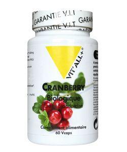 Cranberry - Extrait standardisé BIO, 60gélules