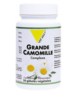 Grande camomille complexe, 30 gélules