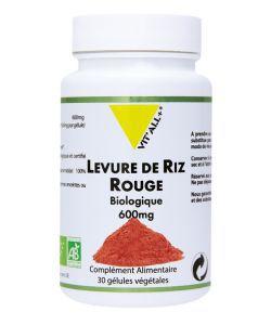 Levure de riz rouge BIO, 60gélules