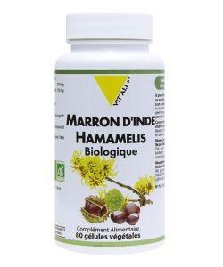 Marron d'Inde + Hamamelis BIO, 80gélules