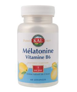 Mélatonile + vitamine B6, 60comprimés