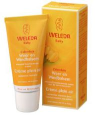 Calendula cream outdoors