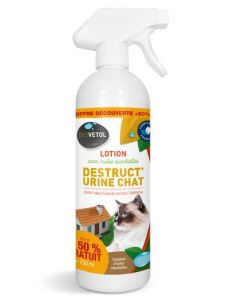 Lotion Destruct\'Urine Chat