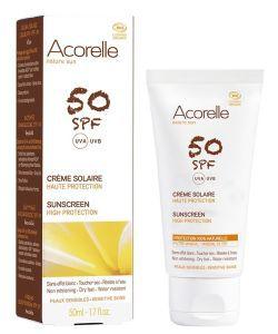 Crème solaire SPF 50