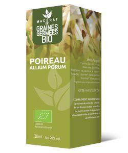 POIREAU - Macérat de Graines Germées BIO, 30ml