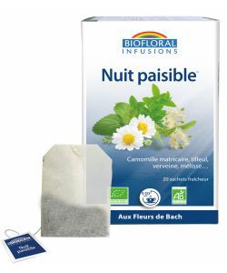 Infusion Nuit Paisible BIO, 20 sachets
