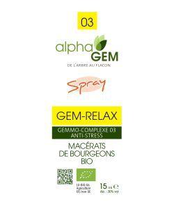 GEM-RELAX Spray BIO, 15ml
