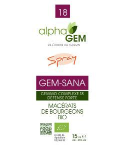 GEM-SANA Spray BIO, 15 ml