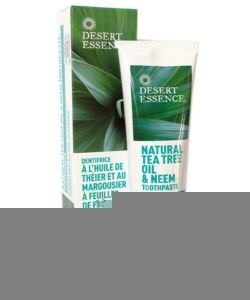 Tea tree toothpaste - neem - ash leaves