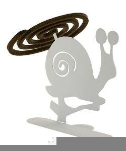 Porte encens spirales Escargot
