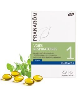Oleocaps 1 Voies respiratoires BIO, 30capsules