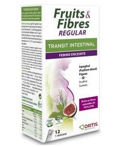 Fruits & Fibres - Transit intestinal - Femme enceinte, 12sticks