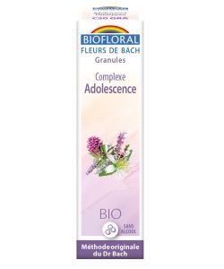 Complexe n°20: Adolescence (granules sans alcool)