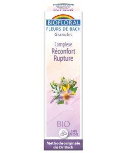 Complexe n°21: Réconfort, rupture( granules sans alcool) BIO, 10ml