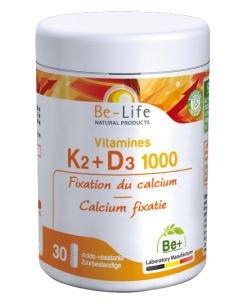 Vitamines K2-D3 1000, 30gélules