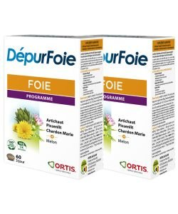 DepurFoie PROMOPACK (-50% sur la 2ème boite), 2x60comprimés