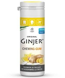 Chewing-gums Ginjer - Citron, 30 g