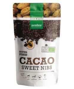 Eclats de fèves de cacao