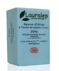 Savon d'Alep à l'huile de nigelle 20%