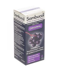 Sambucol Sirop Original, 120 ml