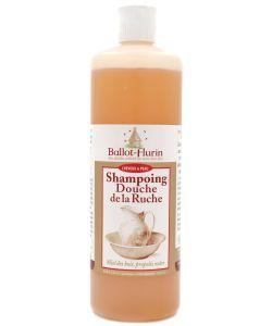 Shampooing-Douche de la Ruche (miel et propolis noir) BIO, 500ml