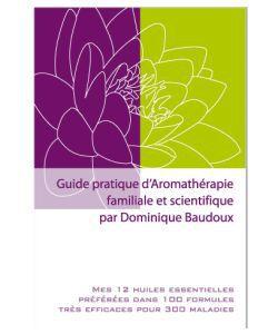 Guide pratique d'aromathérapie familiale et scientifique,Baudoux, pièce