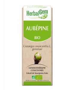 Aubépine (Crataegus oxyacantha) bourgeon BIO, 15ml