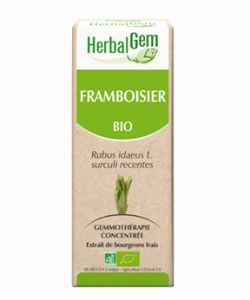 Framboisier (Rubus idaeus) bourgeon BIO, 15 ml