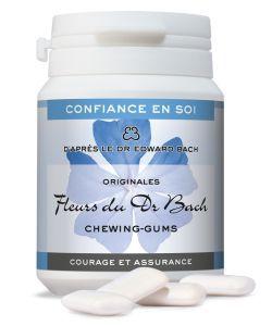 """Chewing-gums """"Courage et assurance"""" (confiance en soi), Dr Bach, 60g"""