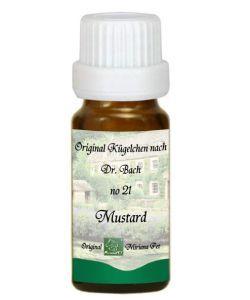 Moutarde - Mustard 21 Fleur de Bach pour animaux, 10g