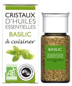 Cristaux d'Huiles Essentielles - Basilic BIO, 10g