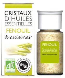 Cristaux d'Huiles Essentielles - Fenouil BIO, 10g