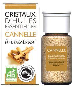Cristaux d'Huiles Essentielles - Cannelle BIO, 10g