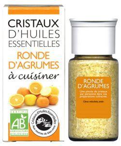 Cristaux d'Huiles Essentielles - Ronde d'Agrumes BIO, 10g