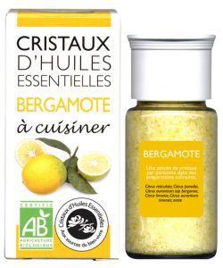 Cristaux d'Huiles Essentielles - Bergamote BIO, 10g