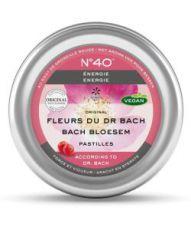 Pastilles n°40 - Energie - Dr Bach