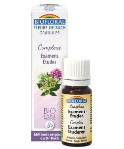 Complexe n°14 : Examens, Etudes (granules sans alcool) BIO, 10ml