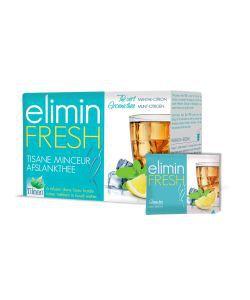 Infusion Elimin Fresh (minceur) - Menthe - Citron, 24sachets