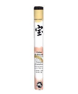Trésor de douceur - Encens japonais (rouleau court), 35bâtonnets