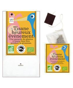 Tisane Heureux événement BIO, 20sachets