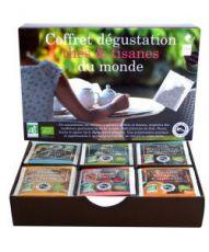 Coffret Dégustation Thés & Tisanes du Monde