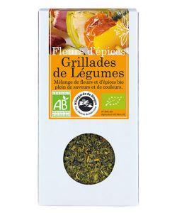 Fleurs d'épices - Grillades de légumes BIO, 20g