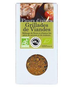 Fleurs d'épices - Grillades de viandes BIO, 75g