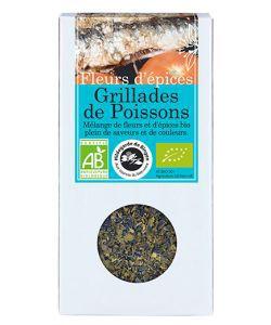 Fleurs d'épices - Grillades de poissons BIO, 25g