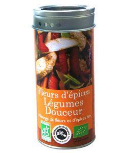 Spice flowers - gently Vegetables (metal box).