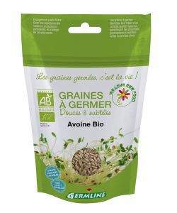 Graines à germer - Avoine BIO, 200 g