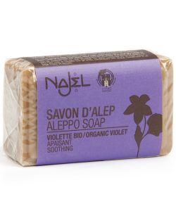 Savon d'Alep parfumé - Violette, 100g