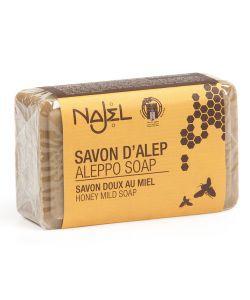 Savon d'Alep enrichi - Miel, 100g