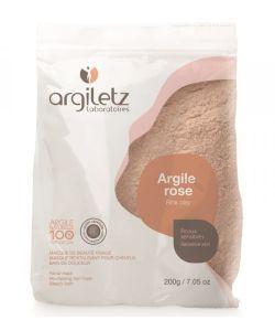 Poudre d'argile rose ultra-ventilée, 200g