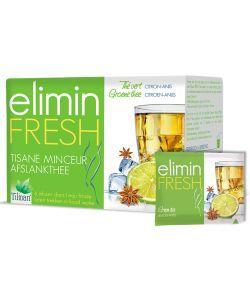 Infusion Elimin Fresh (minceur) - Anis - Citron, 24sachets